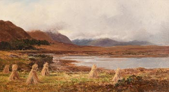 Alexander Williams, At Glendarary, Achill Sound, Mayo at Morgan O'Driscoll Art Auctions