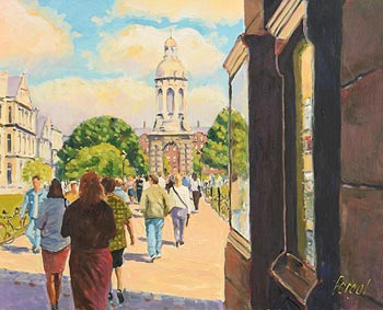 Fergal Flanagan, Trinity College Dublin at Morgan O'Driscoll Art Auctions