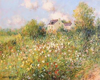 Jean Kevorkian, Jardin Fleuri at Morgan O'Driscoll Art Auctions