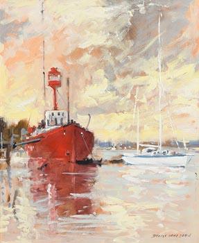 Denis Orme Shaw, Irish Lights at Morgan O'Driscoll Art Auctions