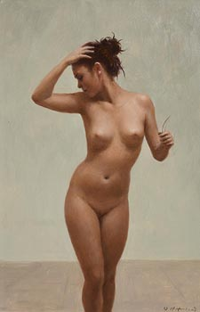 Harry Holland, Female Nude 2004 at Morgan O'Driscoll Art Auctions