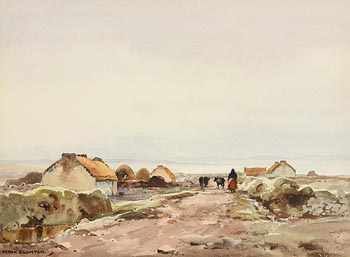 Frank J. Egginton, Near Ballycroy, Co. Mayo at Morgan O'Driscoll Art Auctions