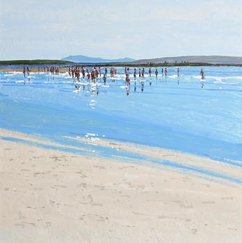 John Morris, Summer, Ballybunion at Morgan O'Driscoll Art Auctions