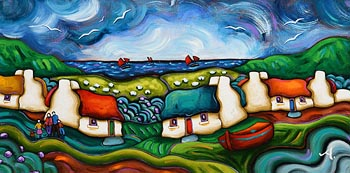 Annie Robinson, Dreams We Had by the Sea at Morgan O'Driscoll Art Auctions