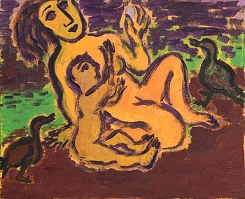 Eileen Cooper, The Egg (1992) at Morgan O'Driscoll Art Auctions