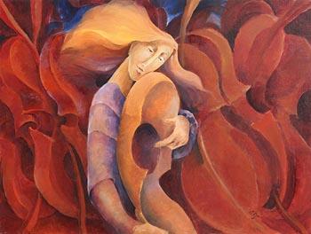 Margaret Egan, Scorched Fiddles at Morgan O'Driscoll Art Auctions