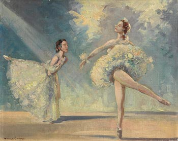Maurice Canning Wilks, Ballet Study (1963) at Morgan O'Driscoll Art Auctions