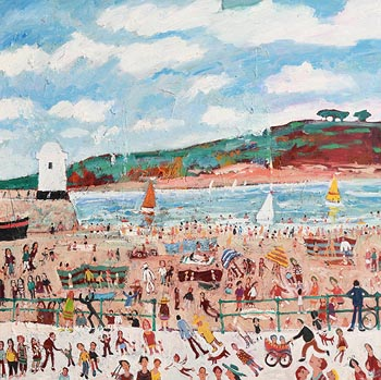 Simeon Stafford, St. Ives, Cornwall at Morgan O'Driscoll Art Auctions