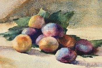 Mildred Anne Butler, Still Life - Plums at Morgan O'Driscoll Art Auctions