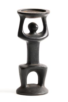 Oisin Kelly, Candleholder in the Form of a Person made for Kilkenny Design at Morgan O'Driscoll Art Auctions