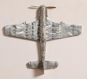 Martin Gibbins, Full Metal Jacket Crucifix (2008) at Morgan O'Driscoll Art Auctions