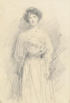 John Butler Yeats, Female Portrait at Morgan O'Driscoll Art Auctions