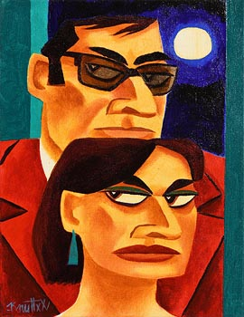 Graham Knuttel, By Moonlight at Morgan O'Driscoll Art Auctions