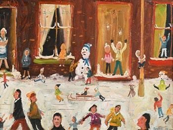 Simeon Stafford, A Winter Wonderland (2001) at Morgan O'Driscoll Art Auctions