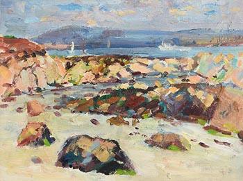 James O'Halloran, Shoreline, Carraroe, Co. Galway at Morgan O'Driscoll Art Auctions