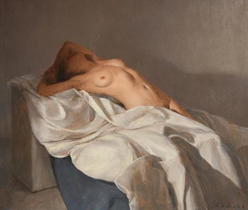 Harry Holland, Reclining Nude, 2010 at Morgan O'Driscoll Art Auctions