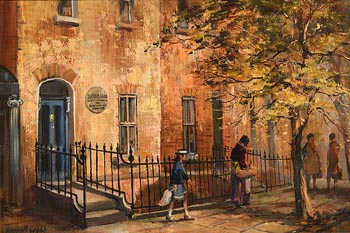 Kenneth Webb, The Birth Place of Bernard Shaw at Morgan O'Driscoll Art Auctions