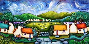 Annie Robinson, Summer Days in the Glen at Morgan O'Driscoll Art Auctions
