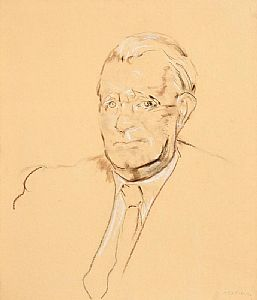 Sean Keating, Sketch of Dan Breen (1958) at Morgan O'Driscoll Art Auctions