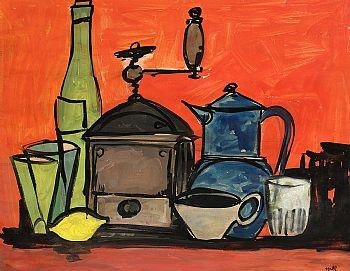 Kenneth Hall, Still Life at Morgan O'Driscoll Art Auctions