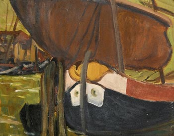 Grace Henry, Boats at  Chioggia at Morgan O'Driscoll Art Auctions