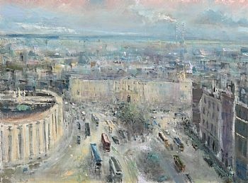 Peter Pearson, College Green, Dublin (2005) at Morgan O'Driscoll Art Auctions