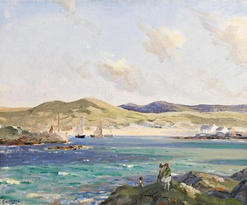 James Humbert Craig, Portnablagh, Co. Donegal at Morgan O'Driscoll Art Auctions