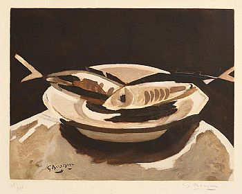 Georges Braque, Still Life with Fish at Morgan O'Driscoll Art Auctions
