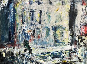 Jack Butler Yeats, The Derelict Ship (1946) at Morgan O'Driscoll Art Auctions