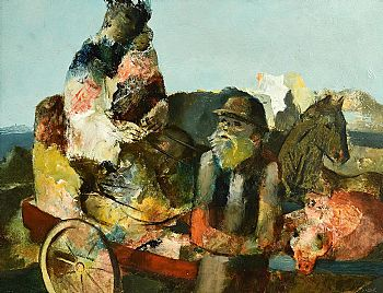 Daniel O'Neill, Country Cart at Morgan O'Driscoll Art Auctions