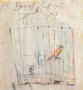 Basil Blackshaw, Bird Cage at Morgan O'Driscoll Art Auctions