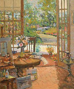 Liam Treacy, Through the Studio Door at Morgan O'Driscoll Art Auctions