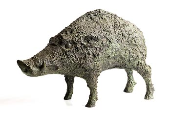 Anthony Scott, Wild Boar at Morgan O'Driscoll Art Auctions