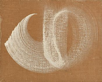 Deborah Brown, White on Canvas (1962) at Morgan O'Driscoll Art Auctions