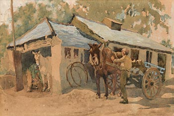 Lilian Lucy Davidson, The Forge at Morgan O'Driscoll Art Auctions