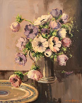 George Gillespie, Anemones at Morgan O'Driscoll Art Auctions