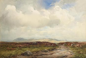 Wycliffe Egginton, Moorland Scene, Ross-Shire (1945) at Morgan O'Driscoll Art Auctions