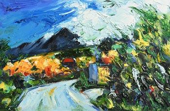 Michael Flaherty, Brandon Peak, Winter at Morgan O'Driscoll Art Auctions