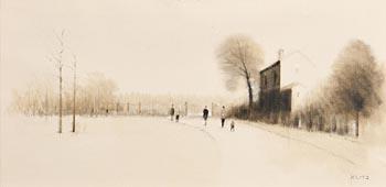 Anthony Robert Klitz, A Walk in the Park at Morgan O'Driscoll Art Auctions