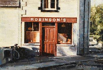 Mark O'Neill, Robinson's (2018) at Morgan O'Driscoll Art Auctions