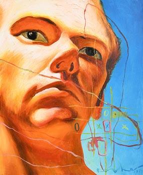 Mark (Rasher) Kavanagh, Blue Sunshine (1999) at Morgan O'Driscoll Art Auctions