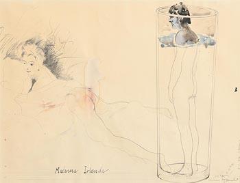 Michael Farrell, Madonna Irelande (1977) at Morgan O'Driscoll Art Auctions