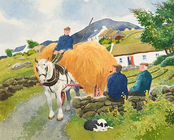 James MacIntyre, Harvest Time at Morgan O'Driscoll Art Auctions