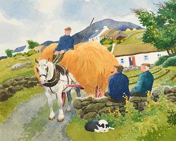 James MacIntyre, Harvest Time at Morgan O'Driscoll Art Auctions