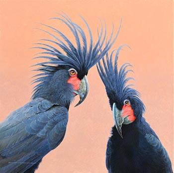 David Ord Kerr, Palm Cockatoos at Morgan O'Driscoll Art Auctions