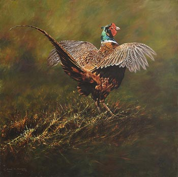 Alan M. Hunt, This is Me - Male Pheasant at Morgan O'Driscoll Art Auctions