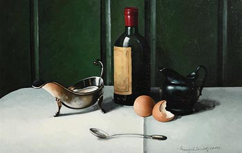 David French Le Roy, Still Life on Tabletop at Morgan O'Driscoll Art Auctions