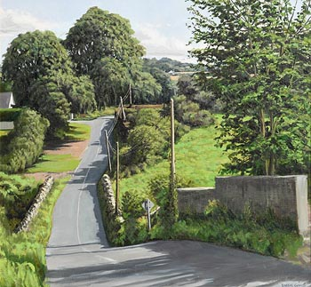 Eugene Conway, Country Road, Co. Kilkenny at Morgan O'Driscoll Art Auctions
