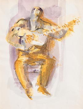 George Campbell, Guitar Player at Morgan O'Driscoll Art Auctions