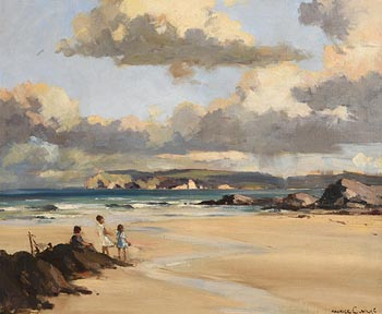 Maurice Canning Wilks, Whitepark Bay, Co. Antrim at Morgan O'Driscoll Art Auctions
